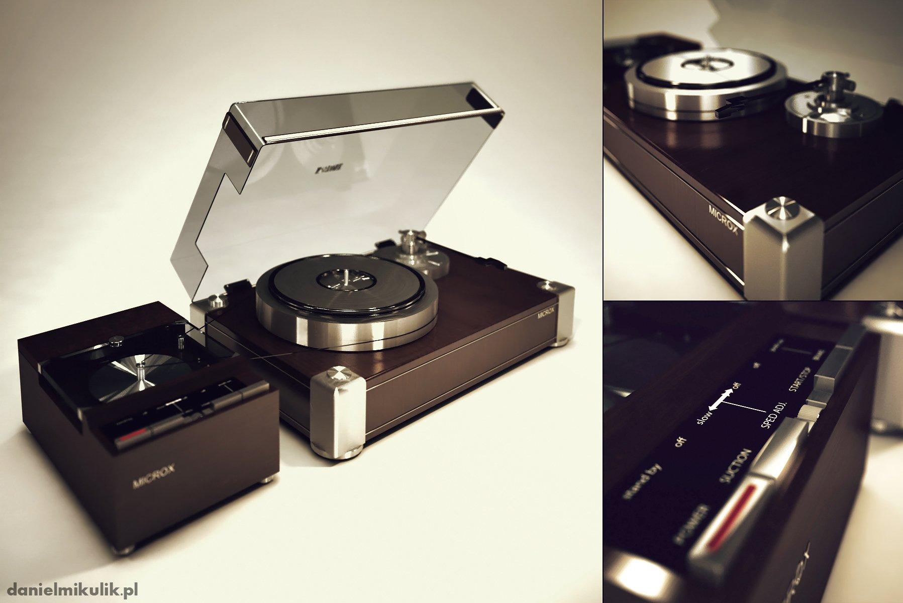 Gramofon 3d model