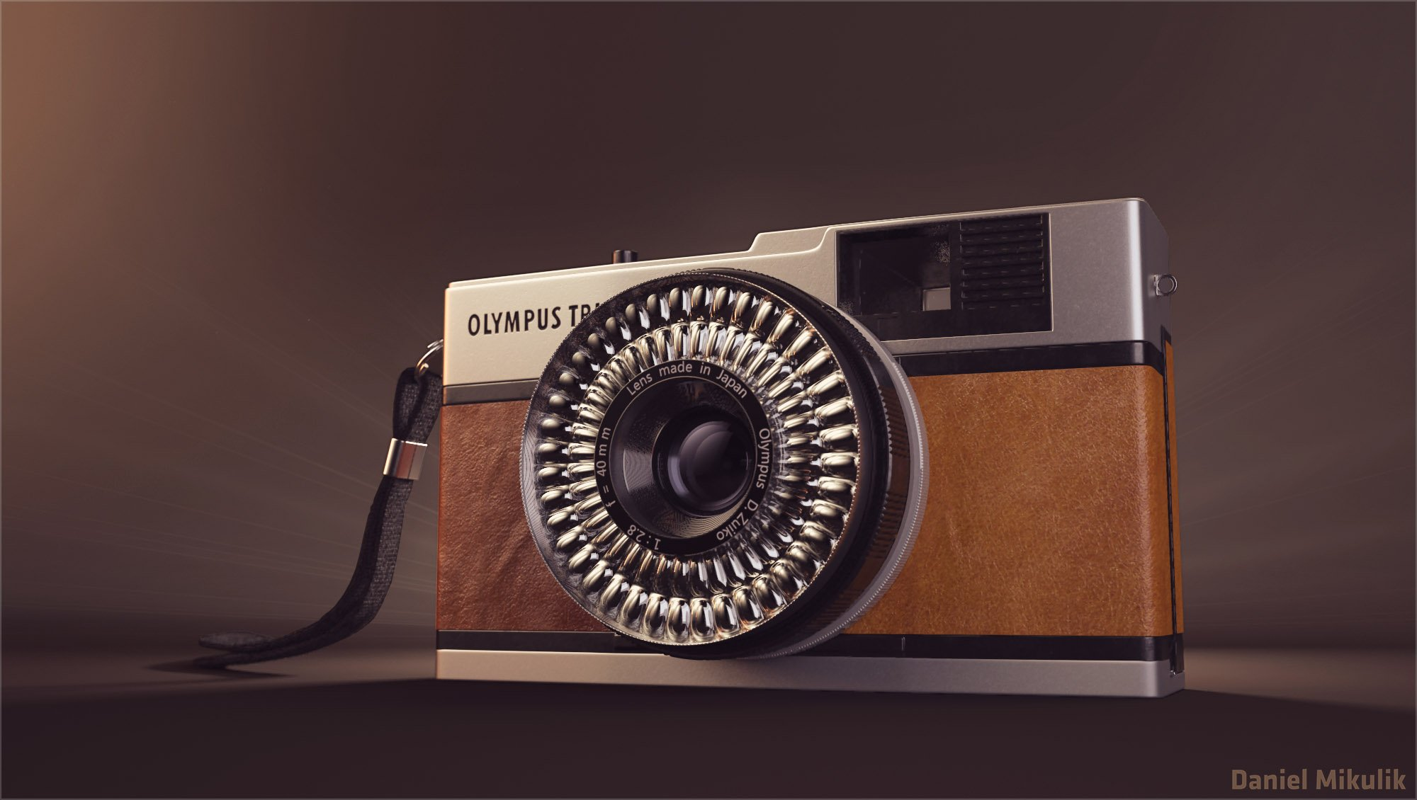 Producent: OLYMPUS Państwo: JAPONIA Produkowany od: 1968 – 1988 Typ aparatu: APARAT KOMPAKTOWY Format: 135