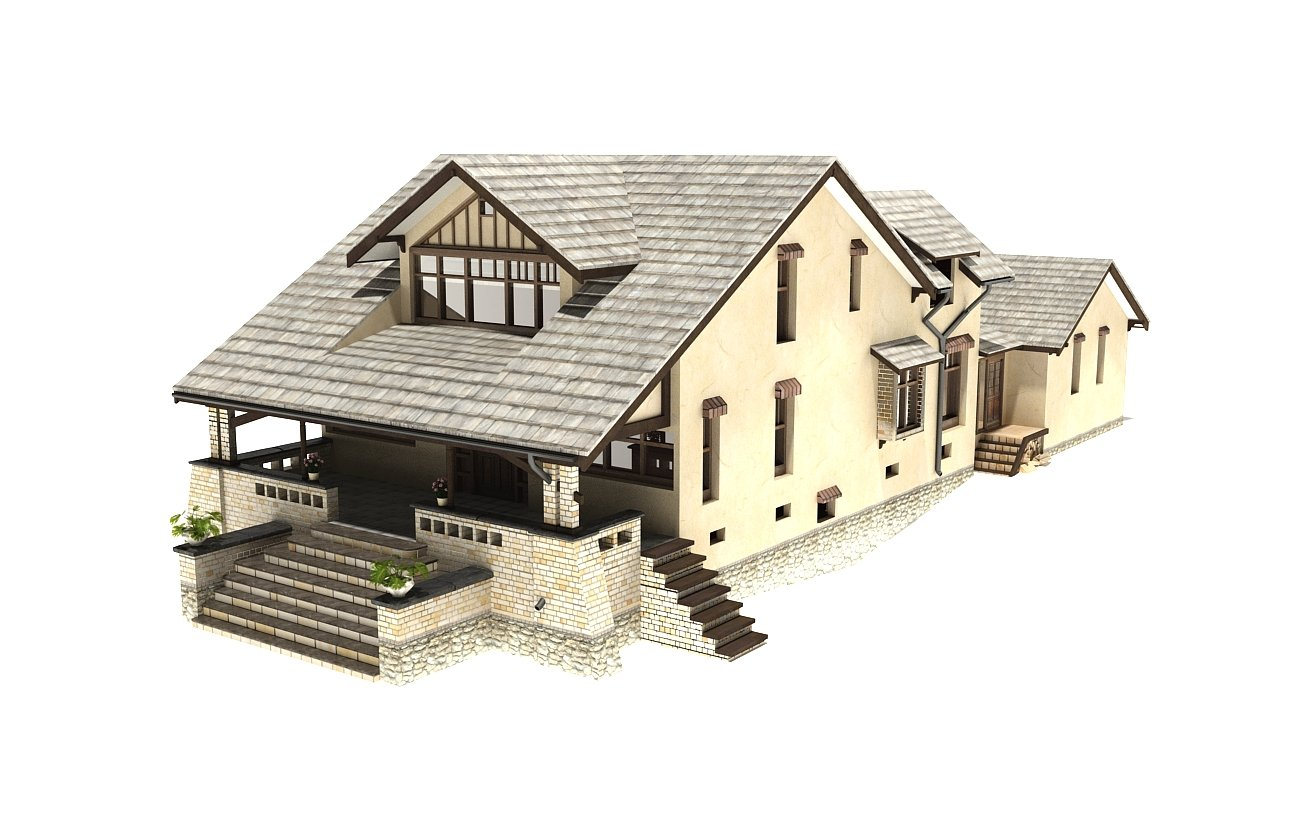 Model domu jednorodzinnego
