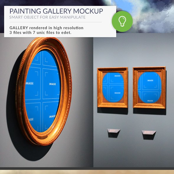 Gallery Mockups Paintings HD