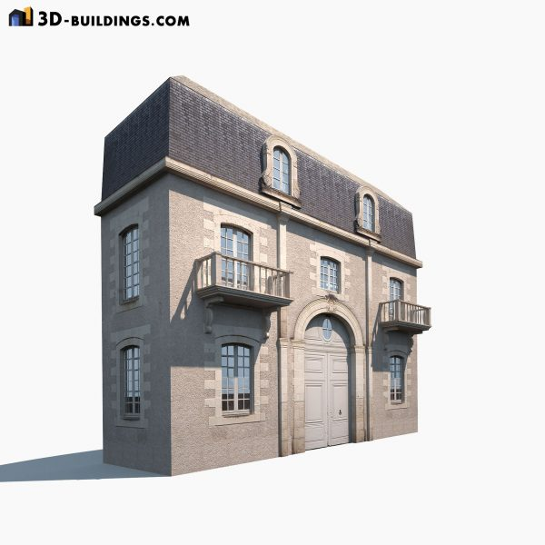 Apartment House Facade